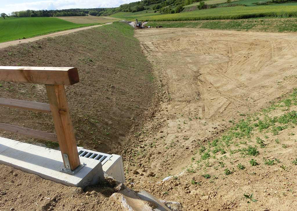 Hochwasserschutz Anlage von Steinbacher+Steinbacher