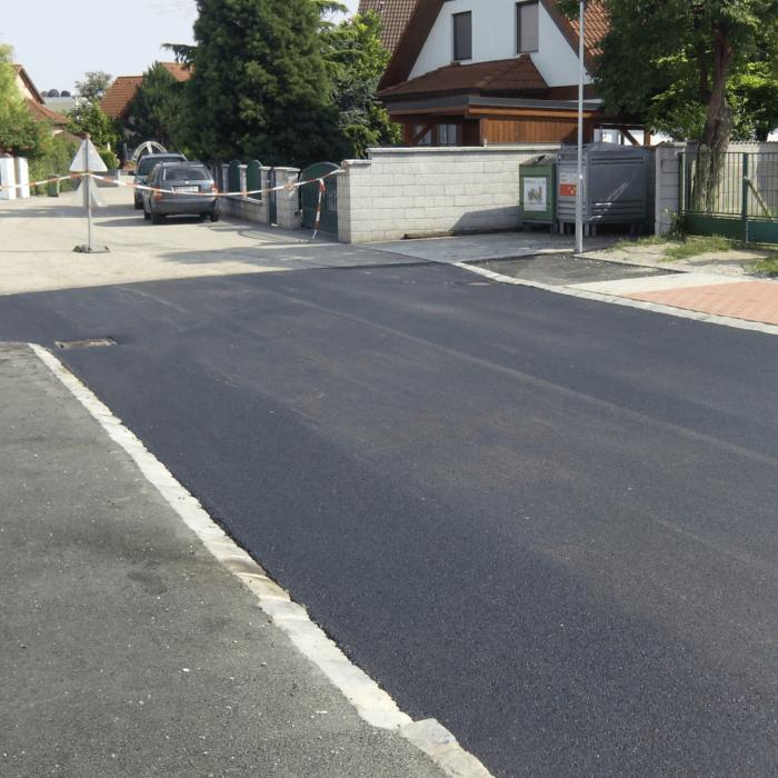 Straßenbau Untersiebenbrunn